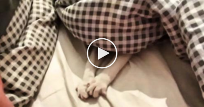 This Kitten And Owner Play A Game Of 'Paws And Blankets'… Just WATCH.