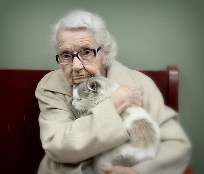 Senior Cats Paired with Senior Citizens