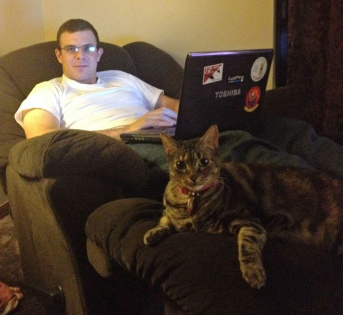 Cat_hanging_out_with_human