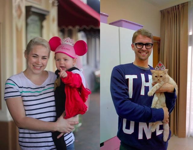 2-single-guy-recreates-baby-photos-cat-photos