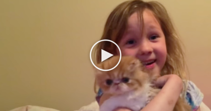 Little Girl Gets Surprise Birthday Present, But The Reaction When She Sees It… OMG!