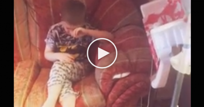 Watch The Reaction When Autistic Boy Who Hasn't Seen His Cat For Three Months Is Reunited…