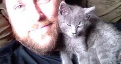 Kitten Was Hit By A Car, But This Man Was The Only One Who Cared To Help… This Story Is Wonderful!