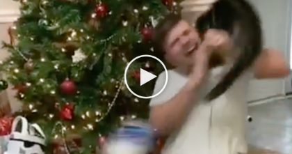 "Cat Takes FULL-REVENGE When Guy Acts ""Overly Excited"" After Getting Playstation… OMG, Hilarious!"