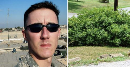 Veteran was about to commit suicide and goes for last smoke, then he hears rustling in bushes