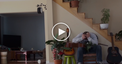 He Kicked His Cat Off The Chair And Received The Painful Results… Exactly What He Deserved! OMG