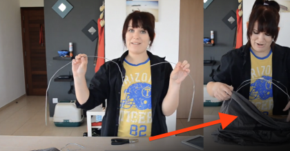 She Started Bending Some Clothes Hangers, But Moments Later…The End Result Was AMAZING!