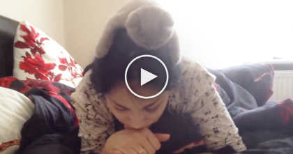 She's Reading A Book, But Look Up And You'll See It…OMG, This Is The CUTEST, Just Watch!