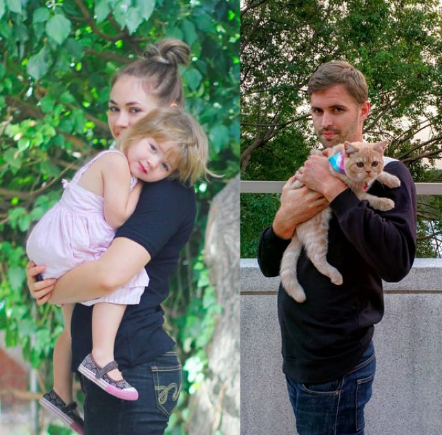 6-single-guy-recreates-baby-photos-cat-photos